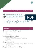 Presentation de La RATP Au Comite de La Ligne 13 Du Metro Du 9 Octobre 2013 V4