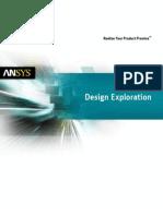 ANSYS 14 Design Exploration