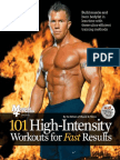 101 High Intensity Workouts for Fast Results (101 Workouts) by Muscle and Fitness -Mantesh
