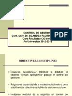 Control de Gestiune 1 2013
