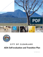 2013 City of Clearlake ADA self-evaluation and transition plan