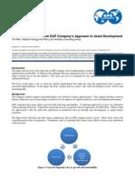 Transformation E P Company to Asset Development