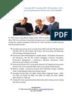Jasa Konsultan Bisnis / Konsultan SOP / Konsultan HRD / ISO Consultant / Penyusunan Dokumen HSE / Business Strategic dan Training Manajemen SDM dan ISO