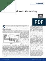 CT Grounding