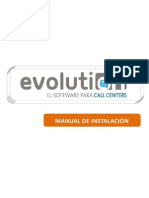 Manual Instalacion Evolution