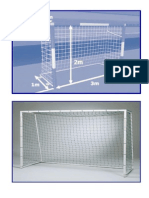 Ukuran Tiang Futsal