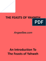 The Feasts of Yahweh