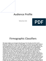 mohid audience profile