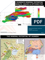 Transforming Uganda's Mineral Potential into Mineral Wealth