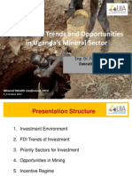 Investment Trends and Opportunities in Uganda's Mineral Sector