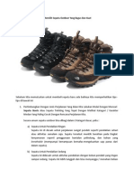 Tips Memilih Sepatu Outdoor Yang Bagus Dan Kuat