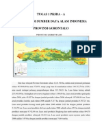 Pengolahan dan Konservasi Sumber Daya Alam Provinsi Gorontalo