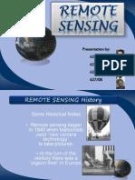 Remote Sensing