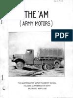 Army Motors - Vol. 1, No. 1 (May 1940)