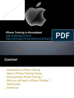 iPhone Training in Ahmedabad for Students and Fresher's