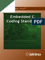 Embedded-C Coding Standard