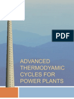 Advanced thermodyamic cycles for Power Plants.pps
