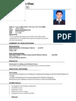 AHMAD CV