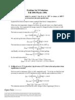 Problem Set 11 Solutions 2