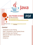 Java Training in Ahmedabad for Students and Fresher's