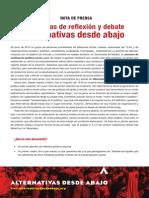 Nota Colectivos Ada Jornadas Octubre