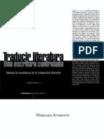 Averbach, Márgara - Traducir literatura. Una escritura controlada. Manual de enseñanza de la traducción literaria OCR