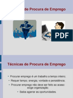 1203201333 Tecnicas de Procura de Emprego