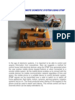 Control of Remote Domestic System Using Dtmf