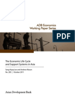 The Economic Life Cycle and Support Systems in Asia