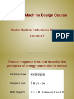 Lecture8 - Electric Machine Performance