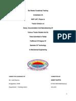 Ankit Gupta Training Report