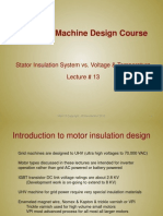 Lecture13 - Stator Insulation System vs. Voltage & Temperature