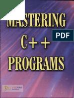 Mastering c++ Programs Preview