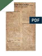 A Gazeta Do Cairo 23 Abril 1894