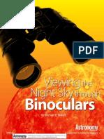 Viewing Thenight Skyt HroughBinoculars