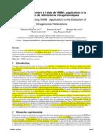 Fouille de données à l_aide de HMM  application à la détection de réitérations intragénomiques