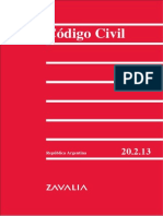 Codigo Civil Argentino 2012