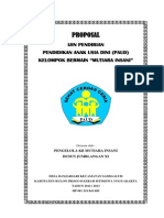 Proposal Ijin Pendirian Paud