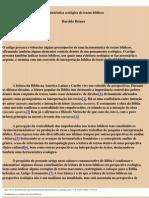 Hermeneutica Ecologica de Textos Biblicos
