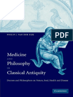 Medicine and Philosophy