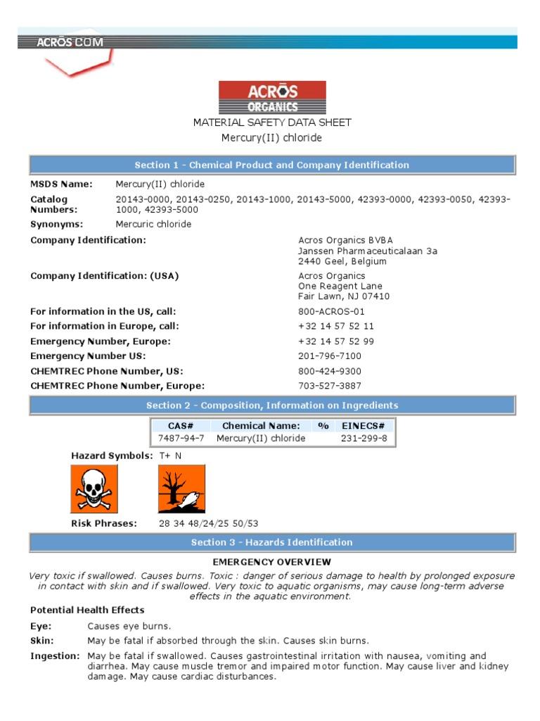 Hgcl2pdf mercury element personal protective equipment buycottarizona
