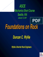 Foundations on Rock Presentation