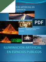 Iluminacion Artificial en Espacios Urbanos