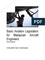 Basic Aviation Legislation for Malaysian Engineers (First e