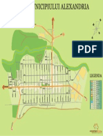 Harta Generala a Municipiului Alexandria