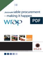 Sustainable Procurement Making It Happen