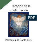 libro de la celebración de la confirmación de adultos con bautismo