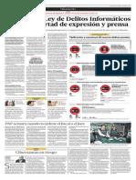 Alertan que Ley de Delitos Informáticos afecta la libertad de espresión y prensa