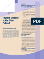 Thyroid Disorder Older