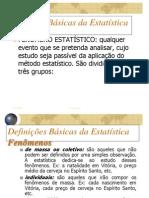 4-definicoes BÁSICAS ESTATISTICA